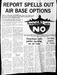 Report spells out airbase options
