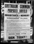 Greenham runway protest - 1951